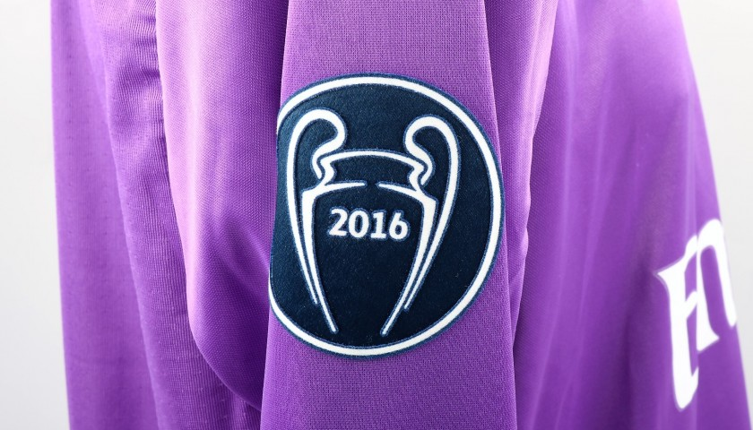 Cristiano Ronaldo's Match-Issued/Worn Shirt, 2017 Cardiff Final