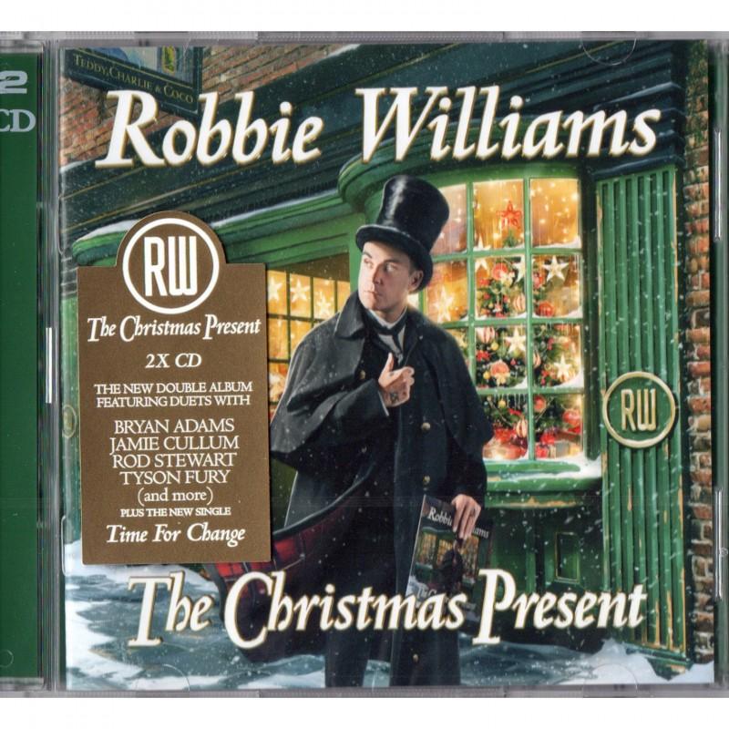 Cd di Robbie Williams con biglietto d'auguri - Autografato