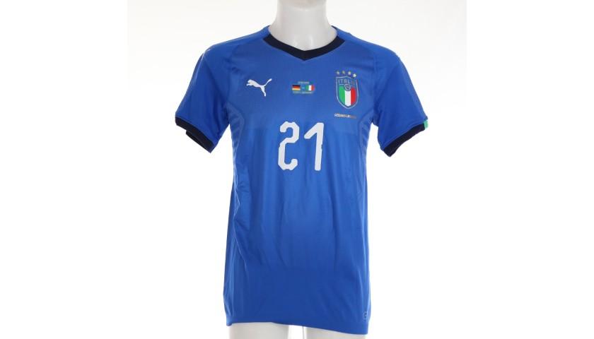 Pirlo's Match Shirt, Germany-Italy 2019