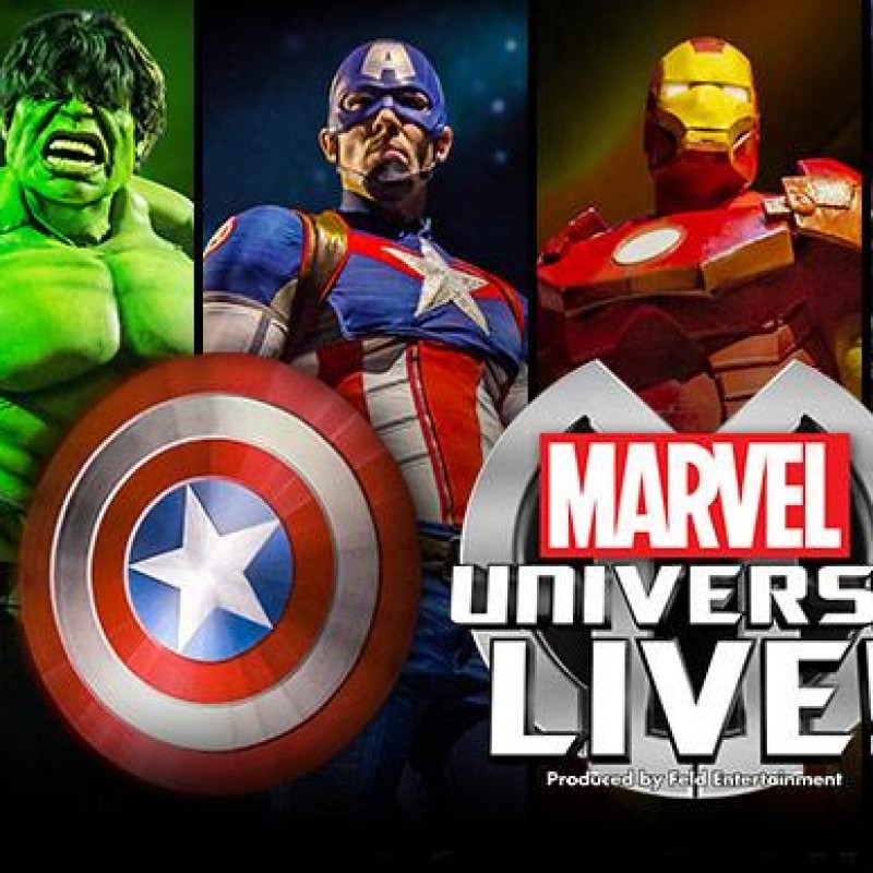 2 Tickets to Marvel Universe Live