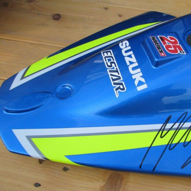 Suzuki motodress, Maverick Vinales #25 - signed