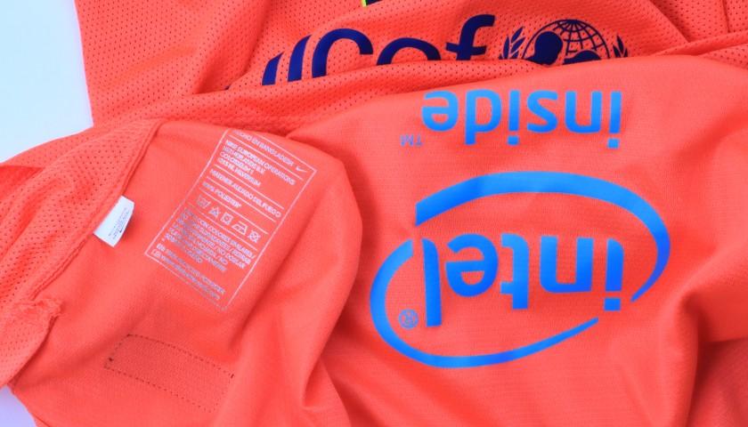 Xavi's Barcelona Match Shirt, Liga 2014/15