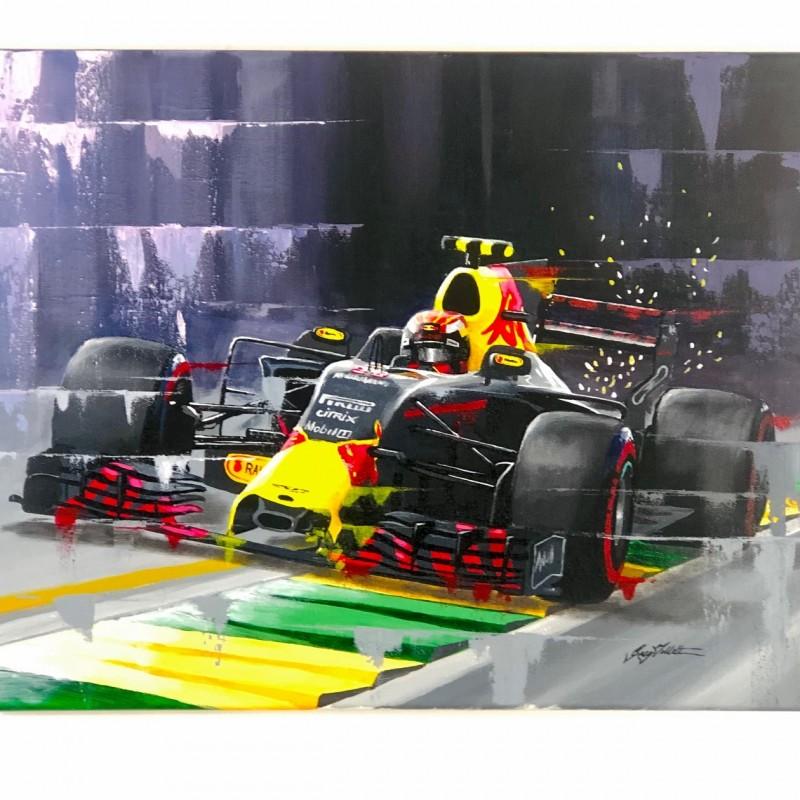 Max Verstappen Original Art Work