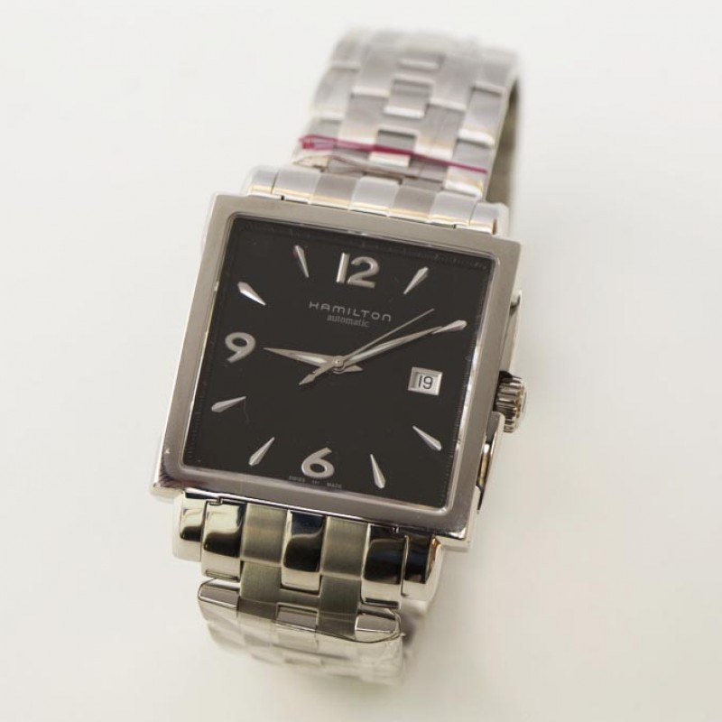 Jazzmaster Square Olympic Gents Automatic Watch