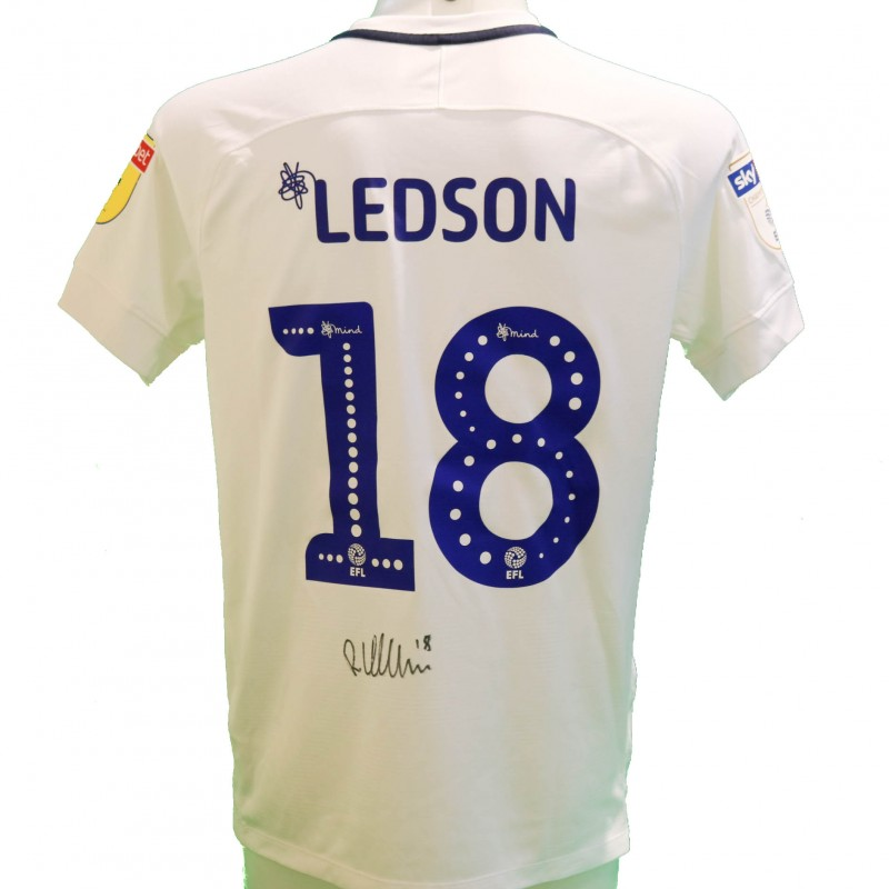 Ledson's Preston Issued and Signed Poppy Shirt