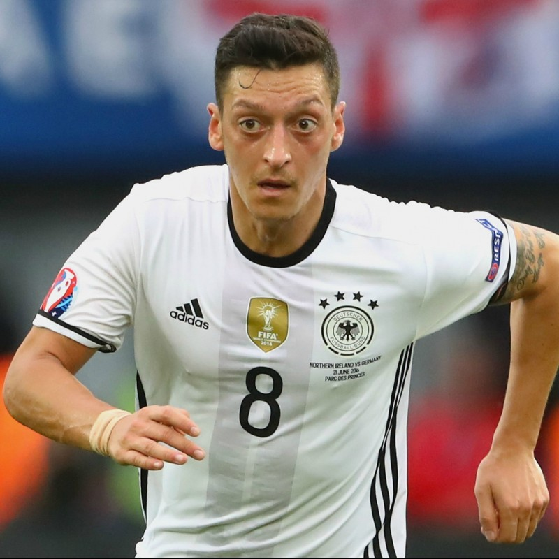 Official Germany Shirt, 2016 - Signed by Ozil