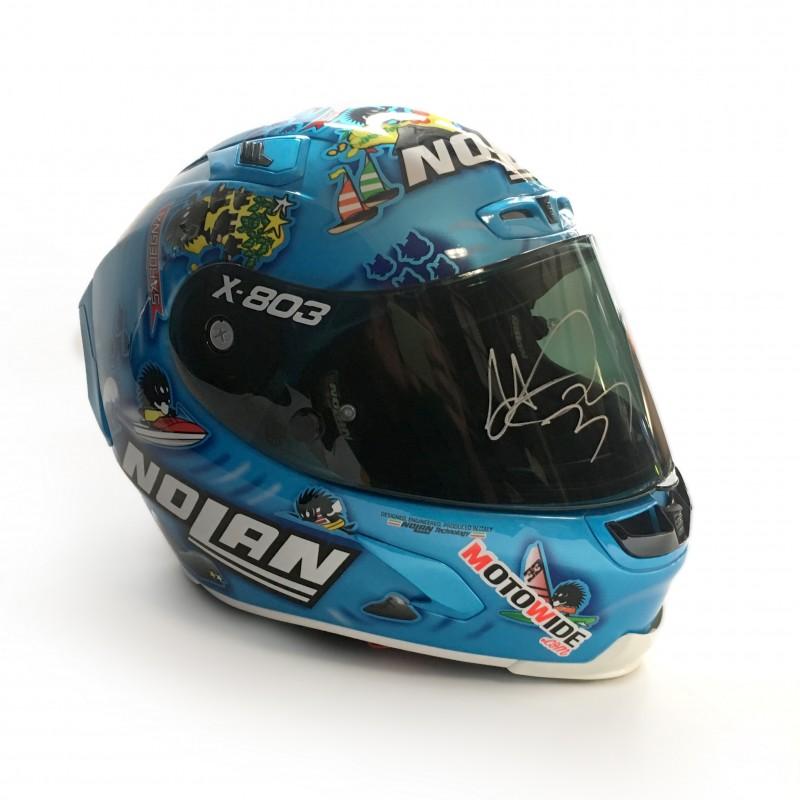 Melandri's X-lite X-803 Signed Helmet