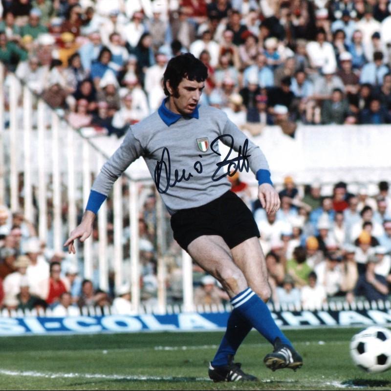 Fotografia autografata dal campione Dino Zoff
