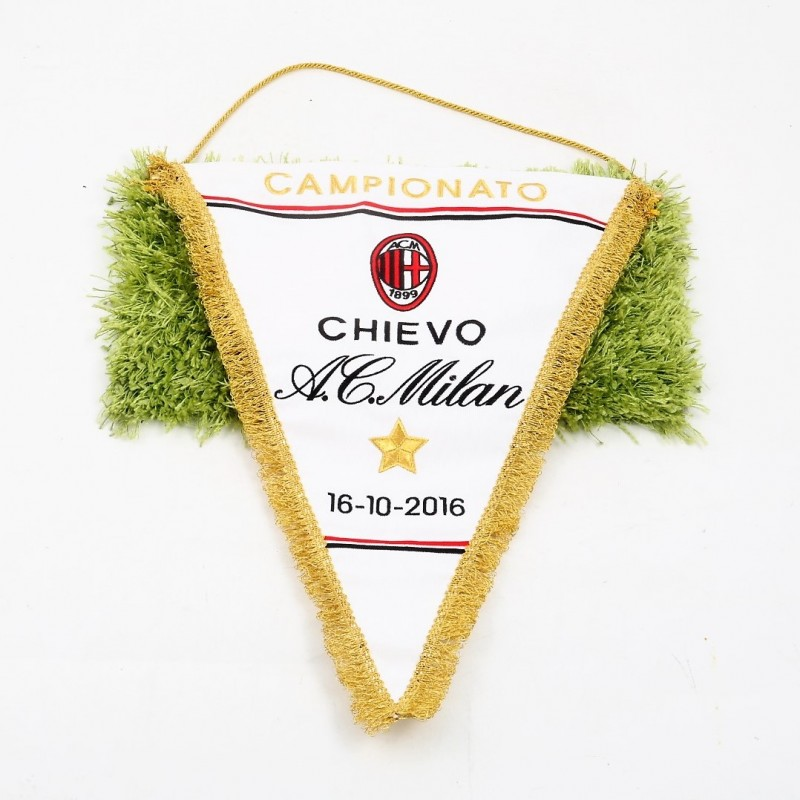 Official Chievo-Milan Pennant, Serie A 2016/17