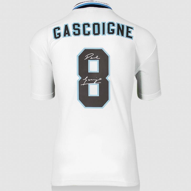 Gascoigne's England Signed Shirt, 1996 UEFA European Cup