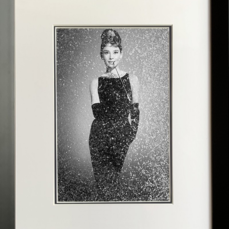 Audrey Hepburn 'Breakfast at Tiffany' Signed Print