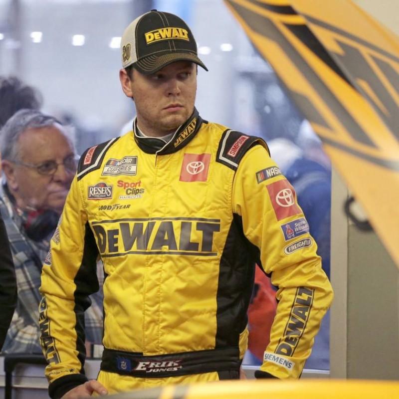 Erik Jones Signed NASCAR Helmet