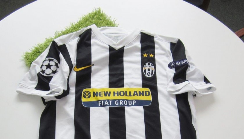 low priced 8008a ad99f Chiellini Juventus match issued/worn shirt, Champions League 2009/2010 -  CharityStars