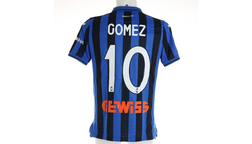 Papu Gomez's Match Shirt, Atalanta-Fiorentina 2019