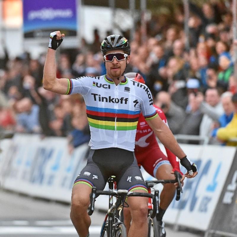 Official Peter Sagan World Champion Shirt, Signed