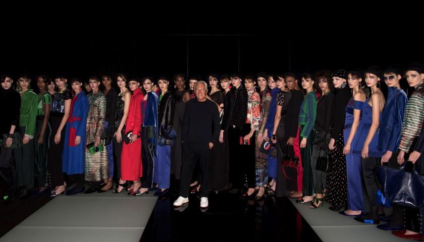 Attend the Giorgio Armani Fashion Show in Milan