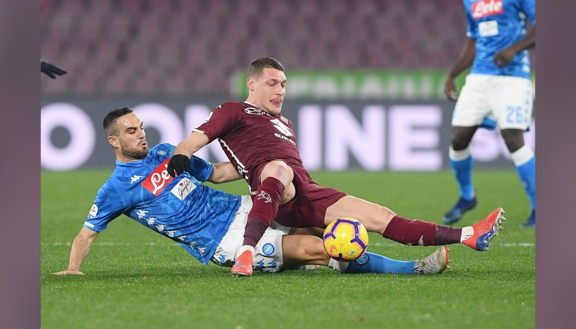 Andrea Belotti's Worn and Signed Adidas Boots