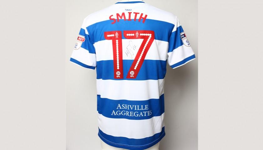 finest selection 35838 0c204 Signed Match-worn Poppy shirt from QPR's Matt Smith 2/2 - CharityStars
