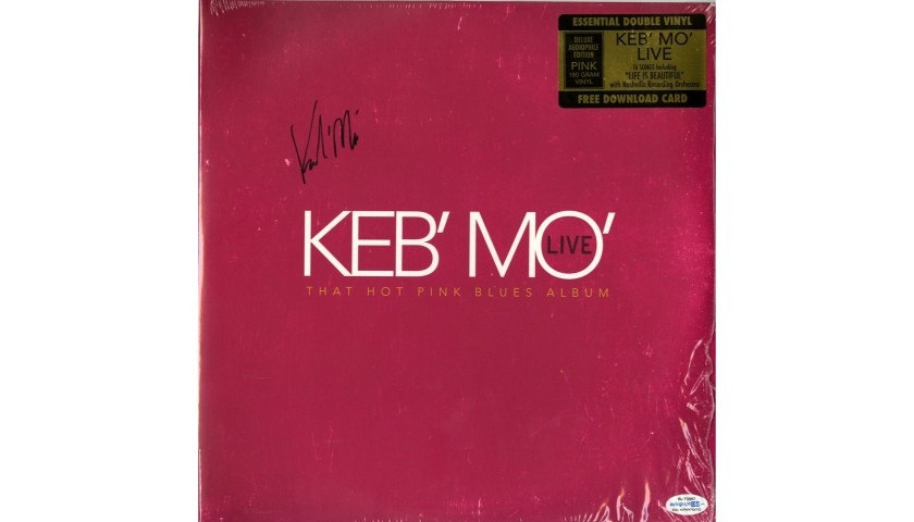 Keb Mo Hand Signed Record Album