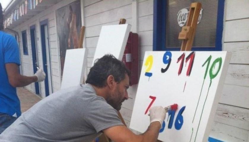 Dipinto moderno quadro dipinto a mano pittura olio o acrilico su