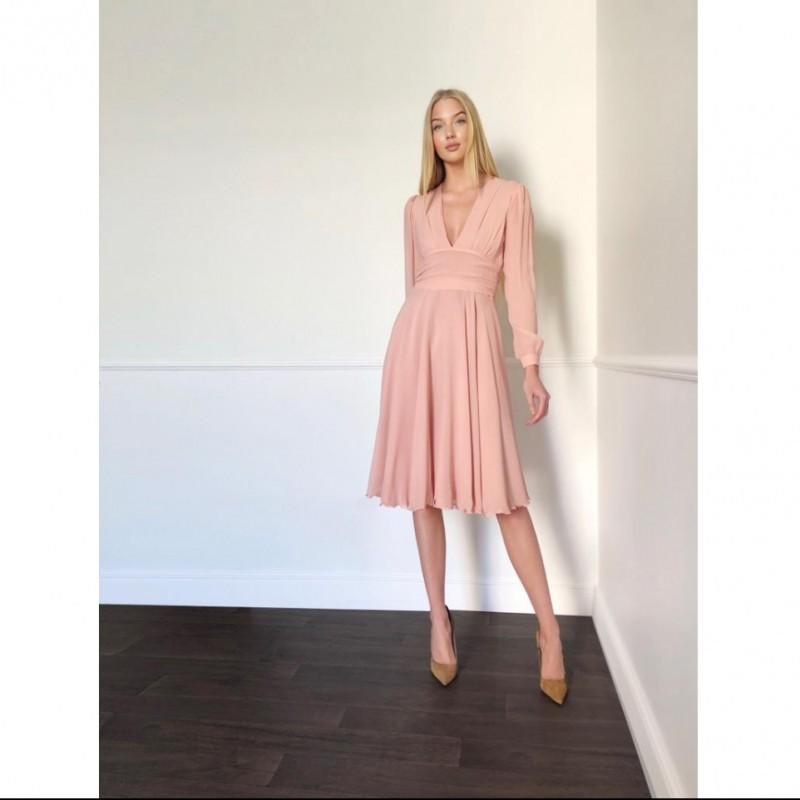 Celeste Pisenti Pink Dress