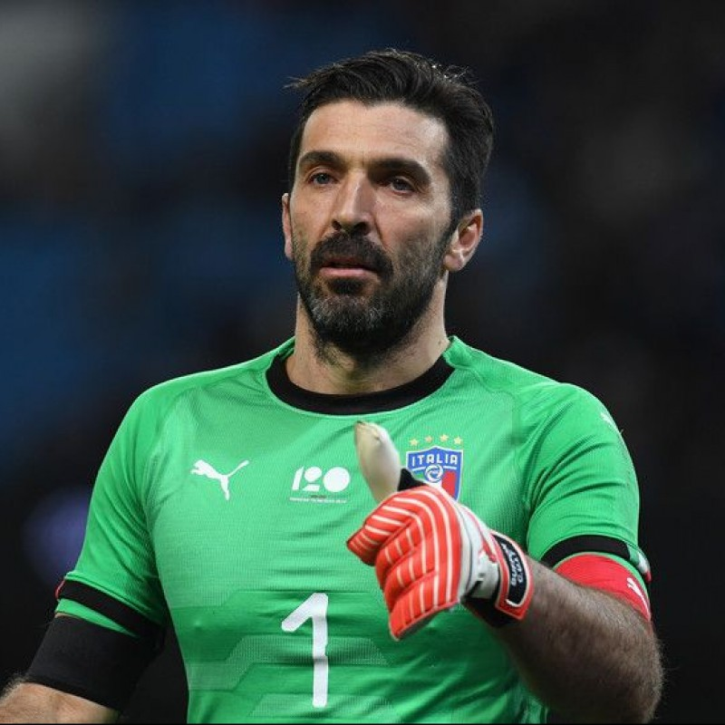 Buffon's Italy Match Shirt, 2018