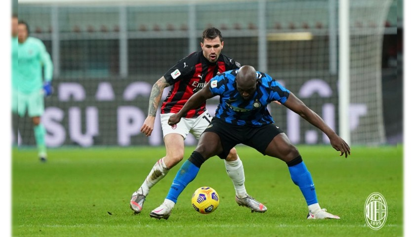 Romagnoli's Worn and Signed Shirt, Inter-Milan 2021