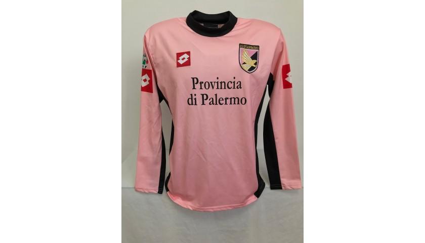 Toni's Palermo Signed Match Shirt, 2003/04