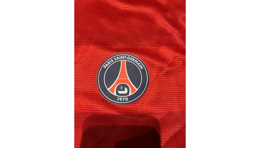 Ibrahimović's PSG Signed Match Shirt, 2012/13