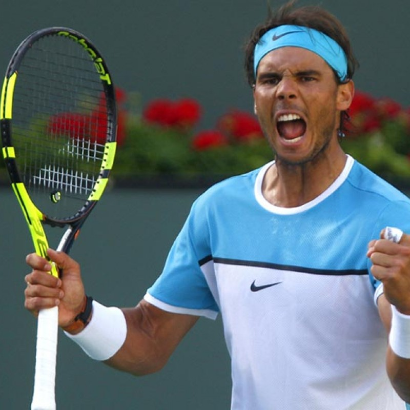Rafael Nadal's Signed Babolat Tennis Racket