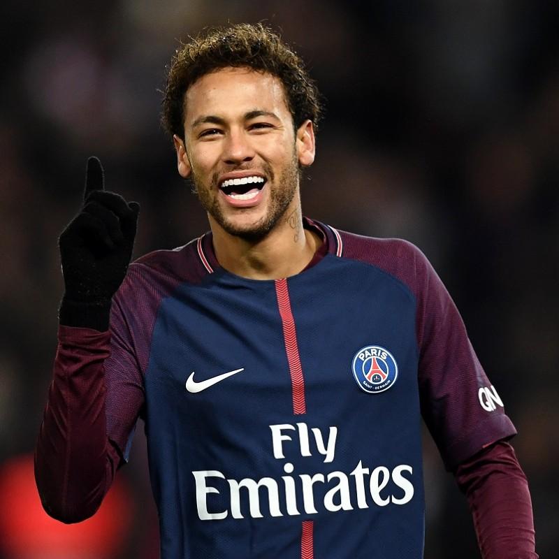 Neymar's PSG Match Shirt, 2017/18