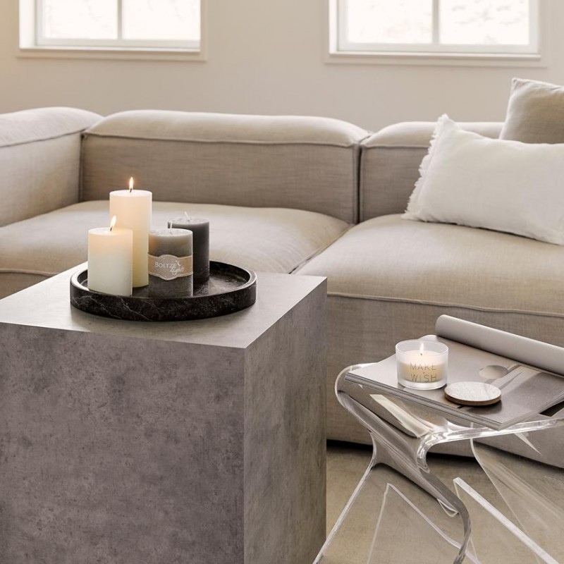Lesley Westwing Concrete Effect Small Table