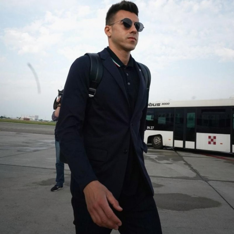 Stephan El Shaarawy's Italy National Football Team Trench Coat