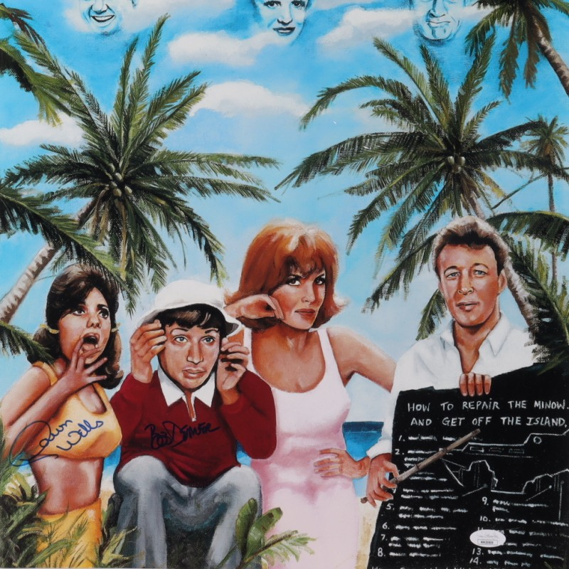 Gilligan's Island Signed Print