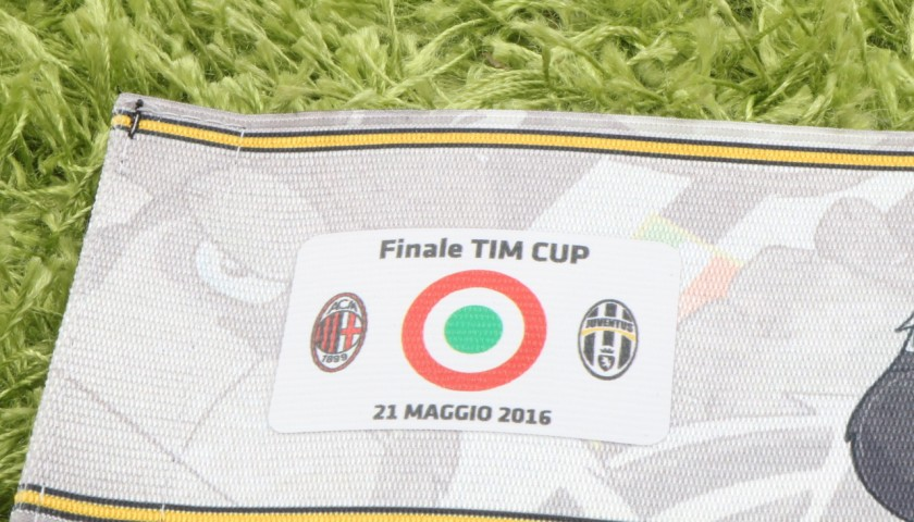 Chiellini Issued Armband, Tim Cup Final - Signed