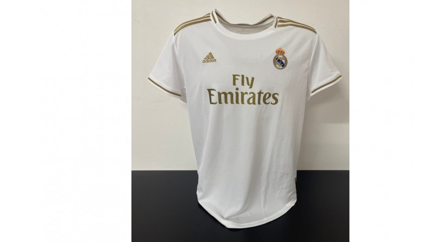 Casemiro's Official Real Madrid Signed Shirt 2019/20