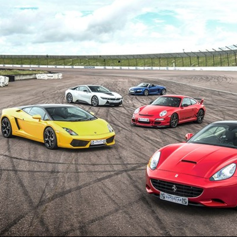 Ultimate Five SuperCar Track Day