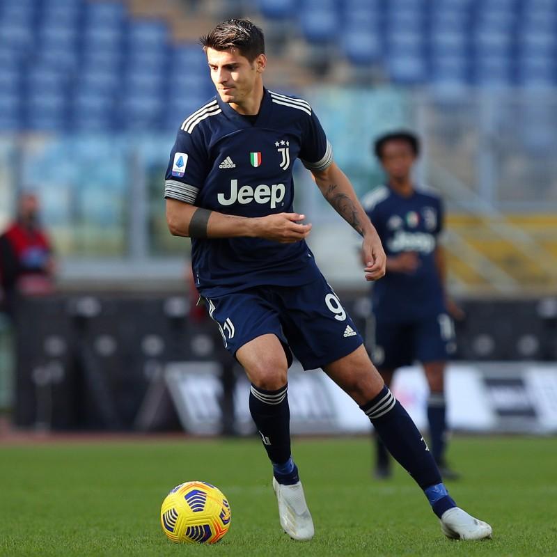 Morata's Juventus Match Shirt, 2020/21