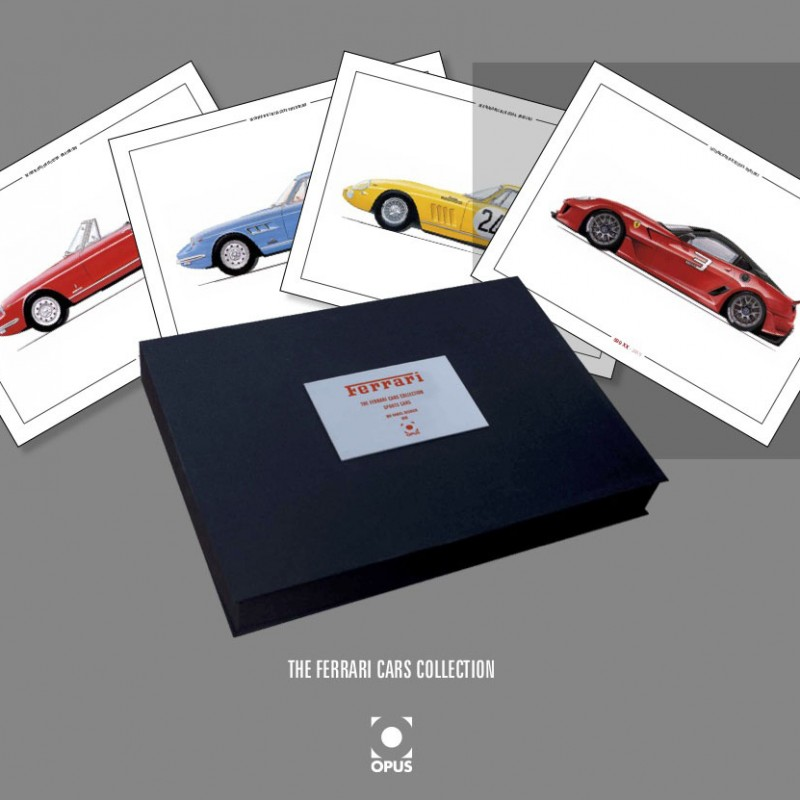 The Ferrari Cars Collection - Limited Edition Box Set