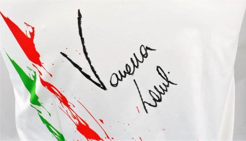 Maglia FITARCO indossata e autografata da Vanessa Landi