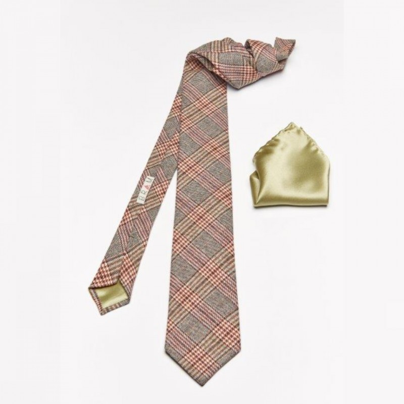 Gran Risa Tie and Pocket Square by Bram
