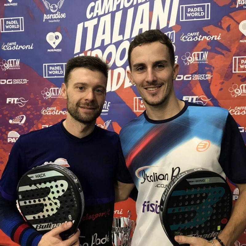 Take on Italian Paddle Tennis Champions Simone Cremona and Daniele Cattaneo