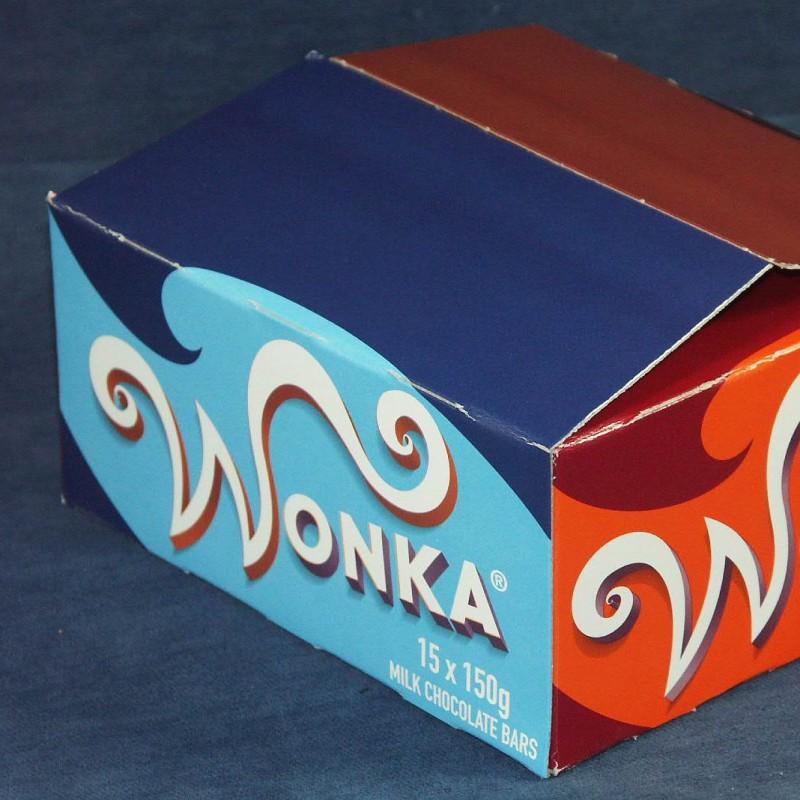 Wonka Chocolate Bar Box