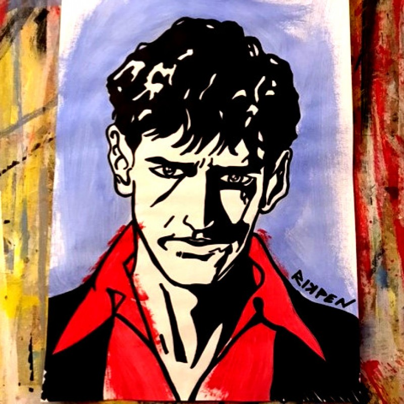 """Dylan Dog"" Original Artwork by Riccardo Penati"