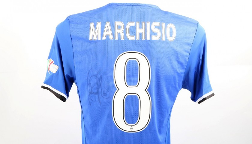 Marchisio Juventus Issued Shirt, TIM Cup Final - Signed