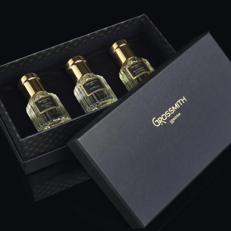Grossmith Black Label Collection Gift Presentation