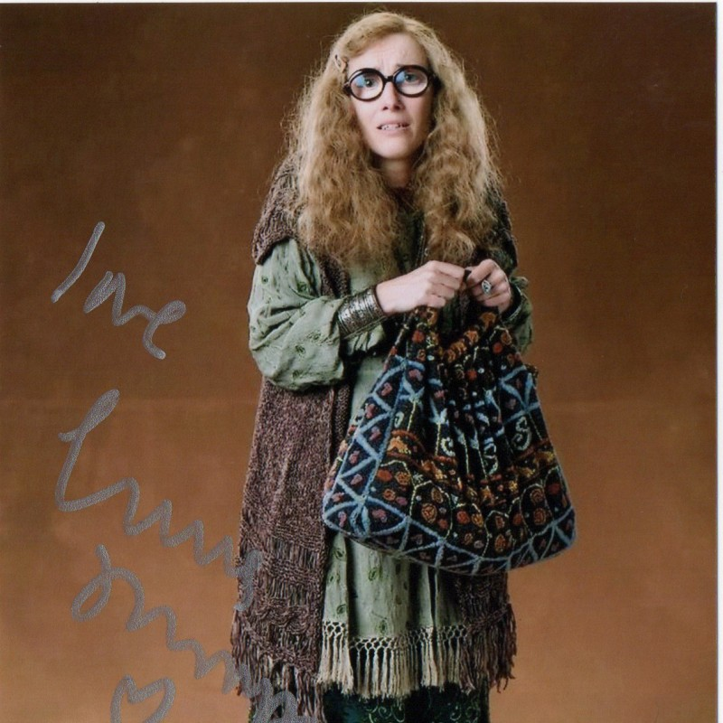 Emma Thompson in Harry Potter Signed Photograph