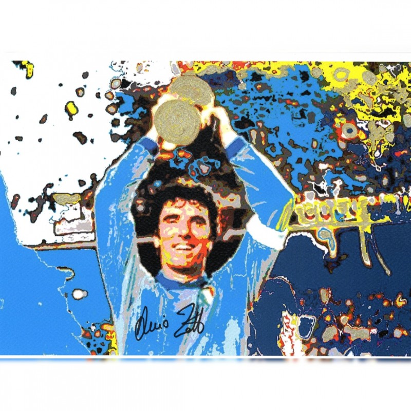 Dino Zoff - Pop Artwork by Gabriele Salvatore