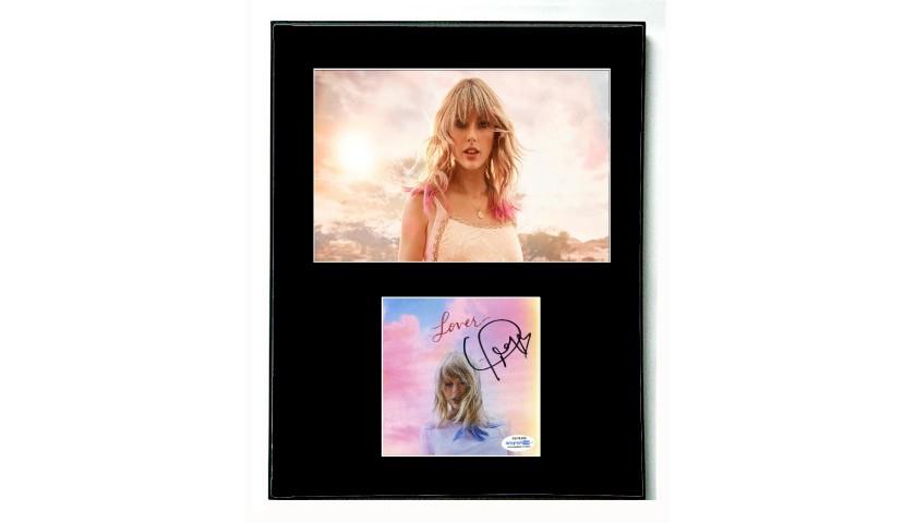 Taylor Swift Hand Signed Framed Display