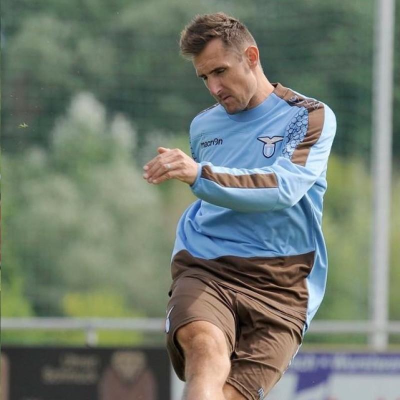 Lazio Training Shorts, 2015/16 - Signed by Klose
